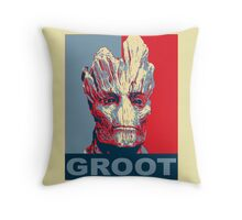 Groot Hope Throw Pillow