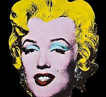 Marilyn Monroe Art by kassyramone