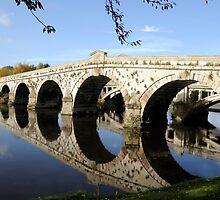 Atcham Bridge  by Sheila Laurens
