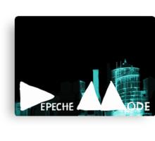 Depeche Mode : Delta Machine Paint - First Half Invert Canvas Print