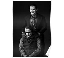The Jokers Black Poster