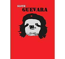 Sloth Geuvara Photographic Print