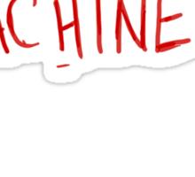 Now I Have A Machine Gun Ho-Ho-Ho Sticker