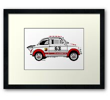 Racing Fiat Abarth 595 Framed Print