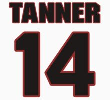 NFL Player Andy Tanner fourteen 14 by imsport