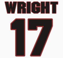 NFL Player Jarius Wright seventeen 17 by imsport