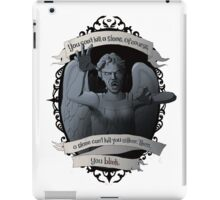 Weeping Angel - Doctor Who iPad Case/Skin