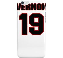NFL Player Conner Vernon nineteen 19 iPhone Case/Skin