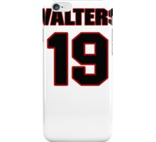NFL Player Bryan Walters nineteen 19 iPhone Case/Skin