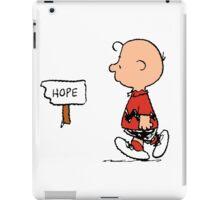 Charlie Brown Hope iPad Case/Skin