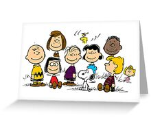 Peanuts all the best Greeting Card
