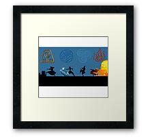 Avatar Four Reencarnations Framed Print