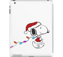 Snoopy - Holiday lights iPad Case/Skin