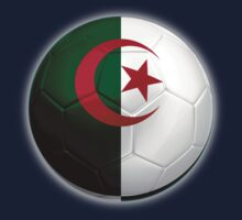 Algeria - Algerian Flag - Football or Soccer 2 Kids Clothes