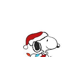 Snoopy - Holiday lights by MCellucci