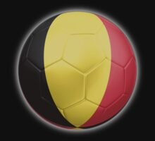 Belgium - Belgian Flag - Football or Soccer 2 Kids Clothes