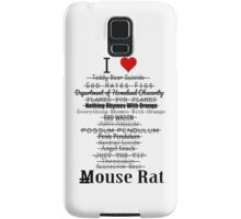 Parks and Recreation - I <3 Mouse Rat Samsung Galaxy Case/Skin