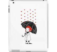 Love rain iPad Case/Skin