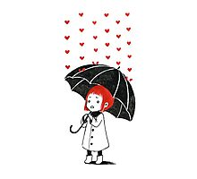 Love rain Photographic Print
