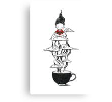 Zen tea Canvas Print