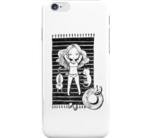 Girl on the beach iPhone Case/Skin