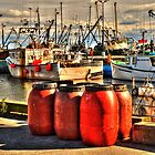 Fall Colors on the Harbor... by Poete100