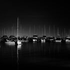Matilda Bay By Moonlight, W.A. by Sandra Chung
