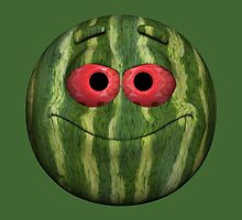 Watermelon Smiley by Mythos57