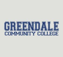 GREENDALE College Jersey (blue) by BGWdesigns