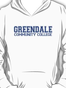 GREENDALE College Jersey (blue) T-Shirt