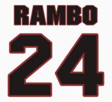 NFL Player Bacarri Rambo twentyfour 24 by imsport