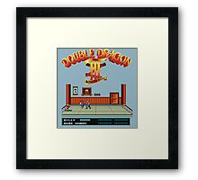 Double Dragon 3 Framed Print