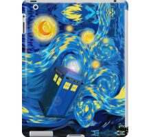 Space and time traveller phone box Starry the night Cartoons iPad Case/Skin