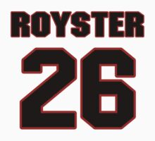 NFL Player Evan Royster twentysix 26 by imsport
