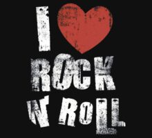 I Love Rock N' Roll Kids Clothes