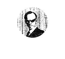 Agent Smith - The Matrix Photographic Print