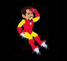 Chibi Iron Guy by mistina