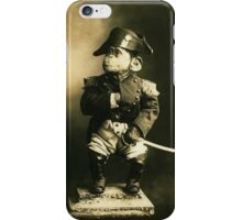 Little Nap The Napoleon of the Chimpanzee World! iPhone Case/Skin