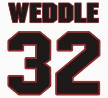 NFL Player Eric Weddle thirtytwo 32 by imsport