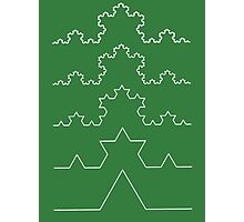 The Koch Curve Photographic Print