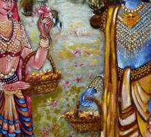 Sita Ram Sticker