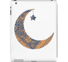 Moon and star iPad Case/Skin