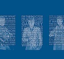 9, 10, 11 Mug - Doctor Who by justicedefender
