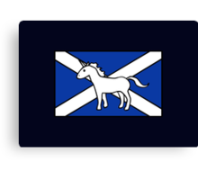 Unicorn, Scotland's National Animal Canvas Print
