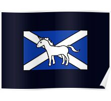 Unicorn, Scotland's National Animal Poster