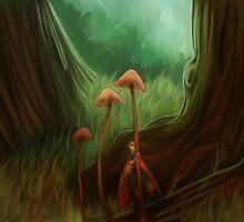 Little fairie by aerococonut