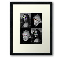 smart and beautiful Framed Print