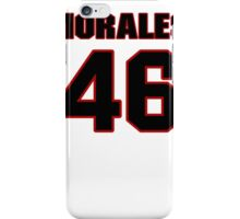 NFL Player Anthony Morales fortysix 46 iPhone Case/Skin