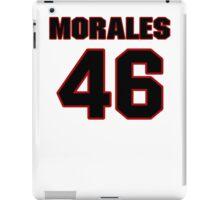 NFL Player Anthony Morales fortysix 46 iPad Case/Skin