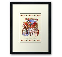 Search your feelings...you know it to be Yuletide Framed Print